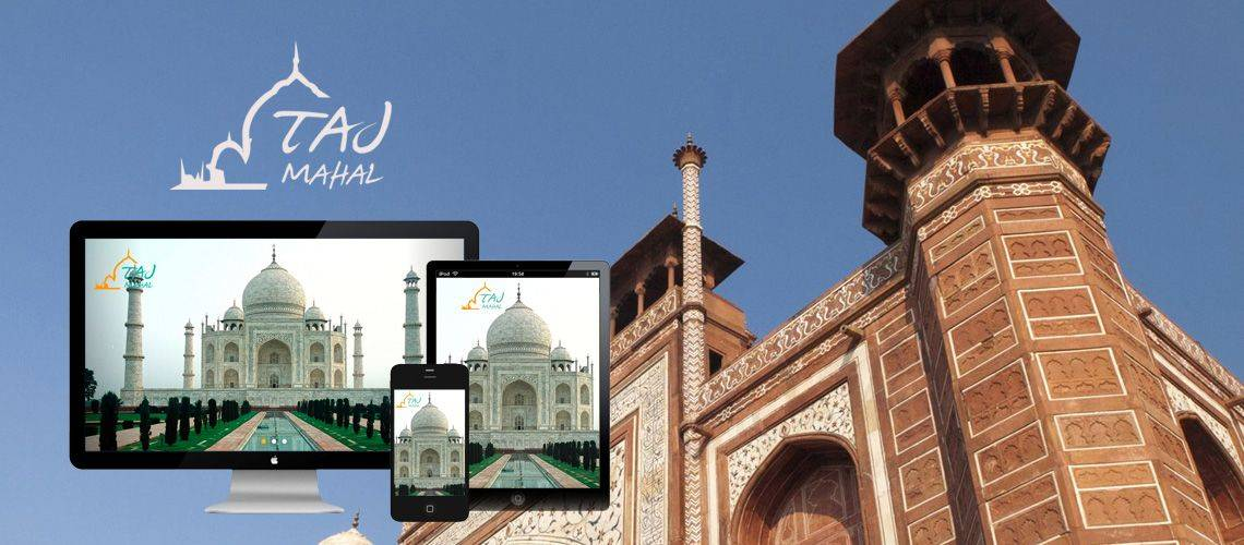 Taj Mahal Agra - Tour Website Design