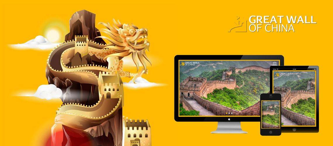 Great Wall Of China - Responsive Website Design