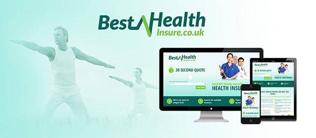 Best Health Insure - Lead Generation Responsive Website Design