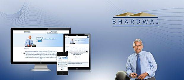 Bhardwaj Insolvency - CMS Website Design