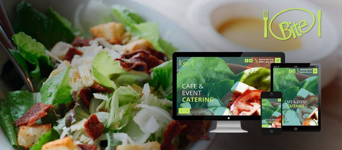 Cafe Bite - Responsive Website Design
