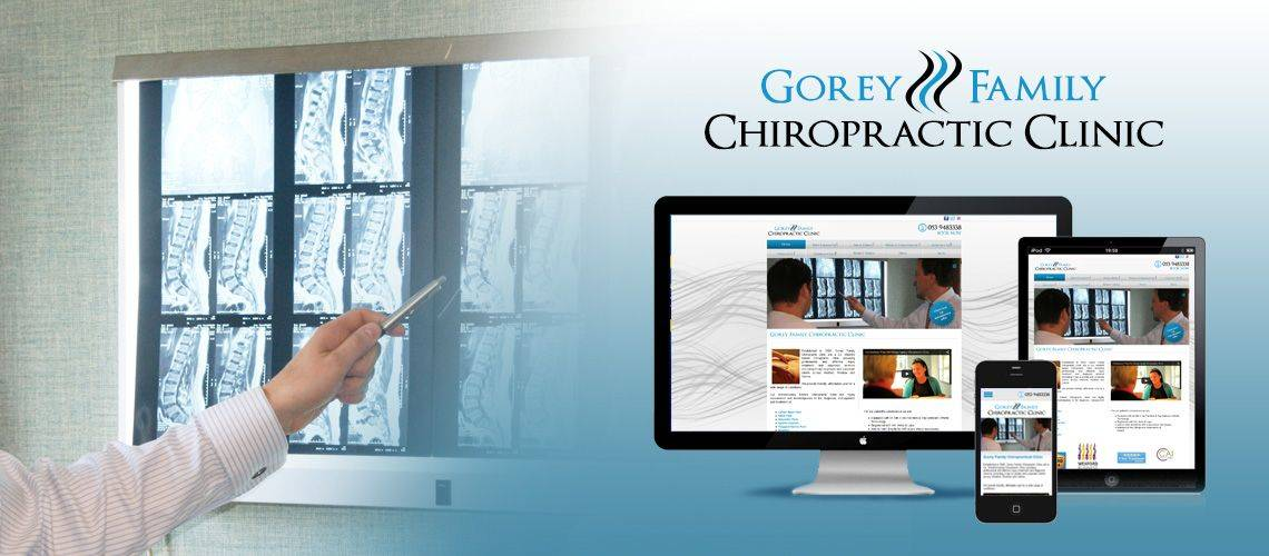 Gorey Family Chiropractic Clinic - CMS Website Design