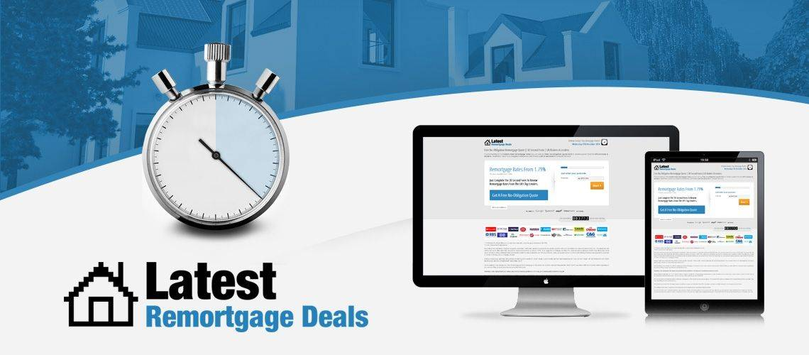 Latest Remortgage Deals - Lead Generation Website Design