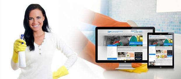 LTN Cleaning - Company Website Design