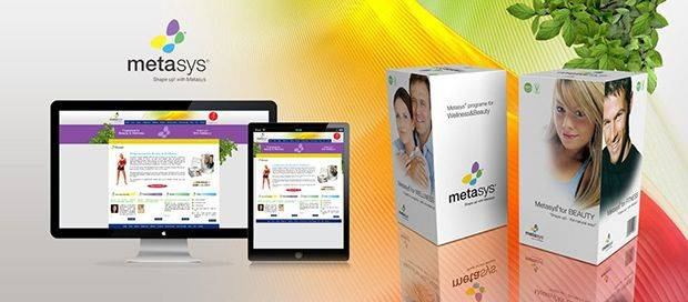 Meta Sys - Weight Loss Website Design