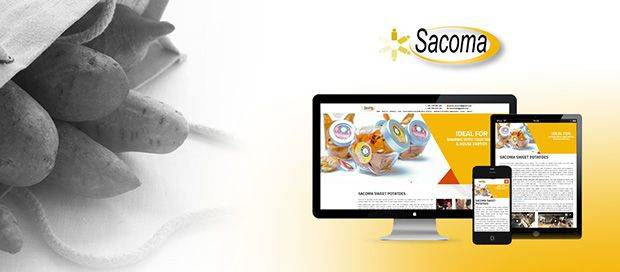 Sacoma Sweet Potatoes - Web Design