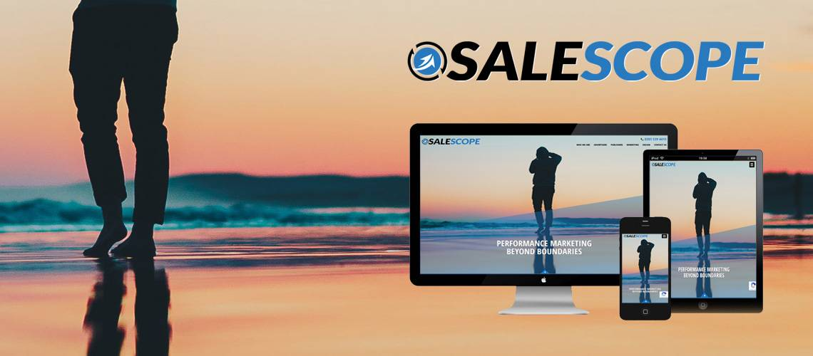 Sale Scope - Corporate Website Design
