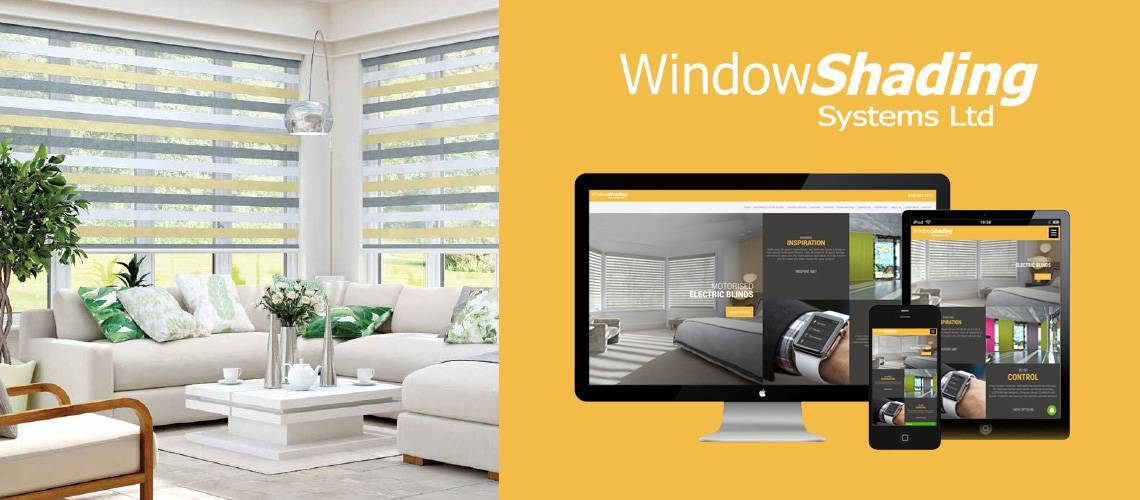 Window Shading Systems - Responsive Website Design