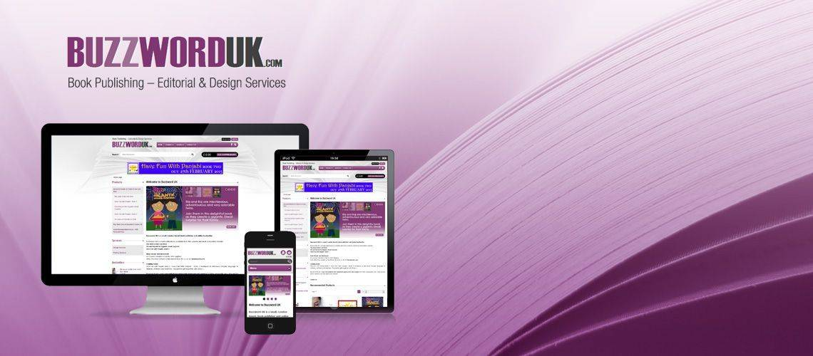 Buzzword UK - Book Shop Ecommerce Website Design