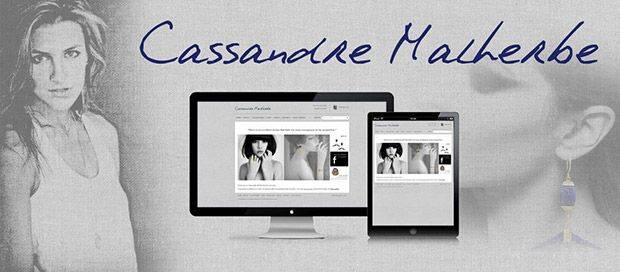 Cassandre Malherbe - Jewelry Ecommerce Website Design