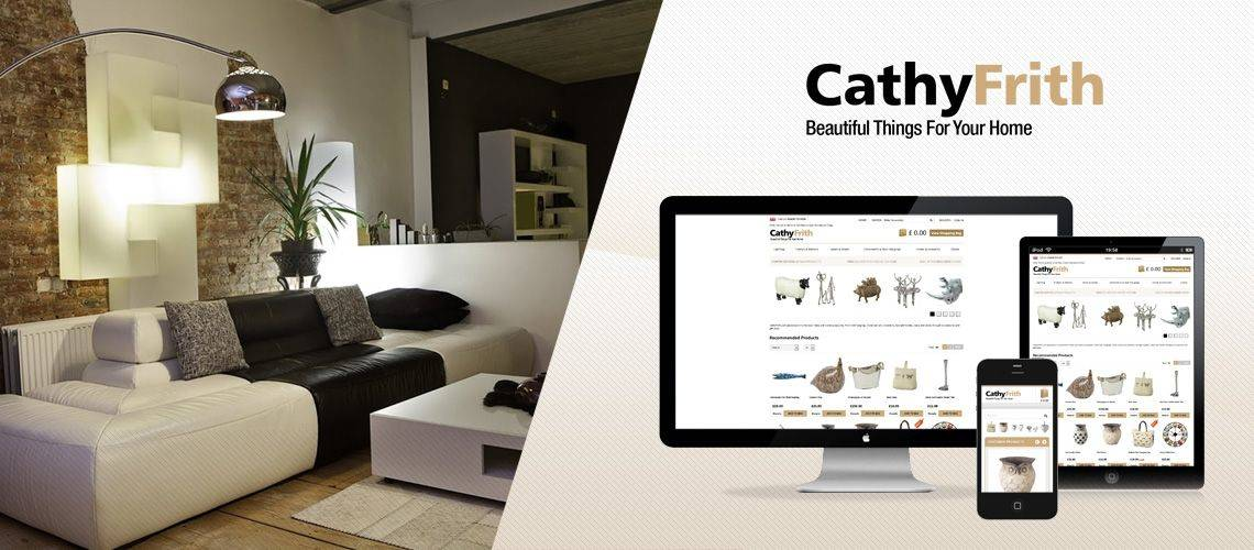 Cathy Frith - Responsive Ecommerce Website Design