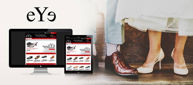Eye Foot Wear - Ecommerce Website Design