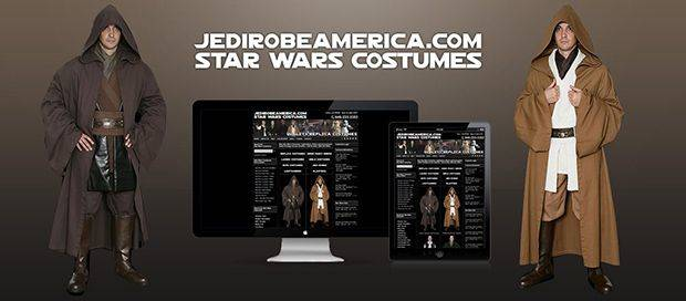 Jedi Robe America - Star Wars Shop - Ecommerce Website Design