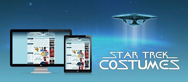 Star Trek Temple - Ecommerce Website Design
