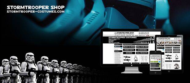 Stormtrooper Costumes - Ecommerce Web Design