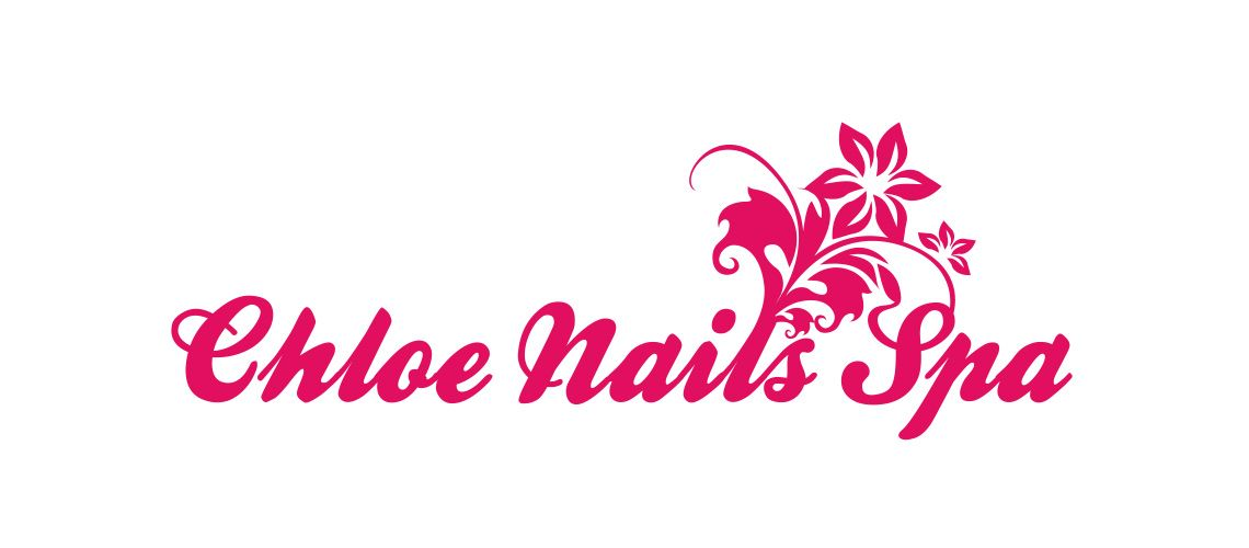 Chloe Nails Spa Business Logo Design