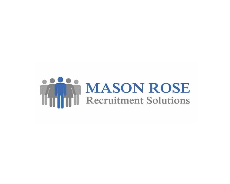 Mason Rose - Recruitment Company Logo Design