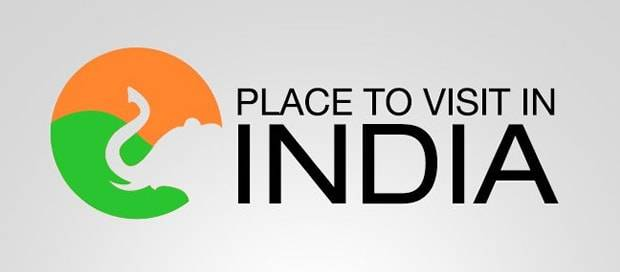 Place to visit in India - Tour Logo Design