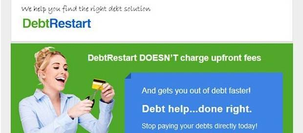 Debt Restart - Newsletter Design
