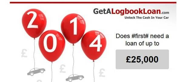 Get a Log Book Loan - Email Newsletter Design