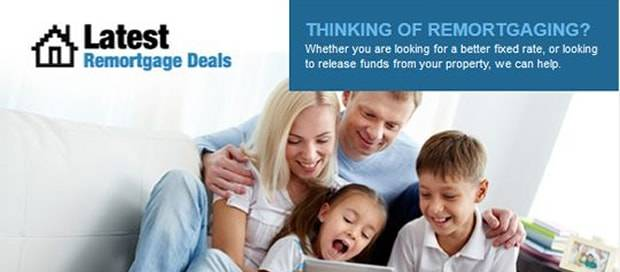Latest Remortgage Deals - Summer Newsletter Design