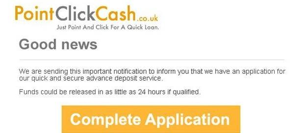 Point Click Cash - Lead Generation Newsletter Design