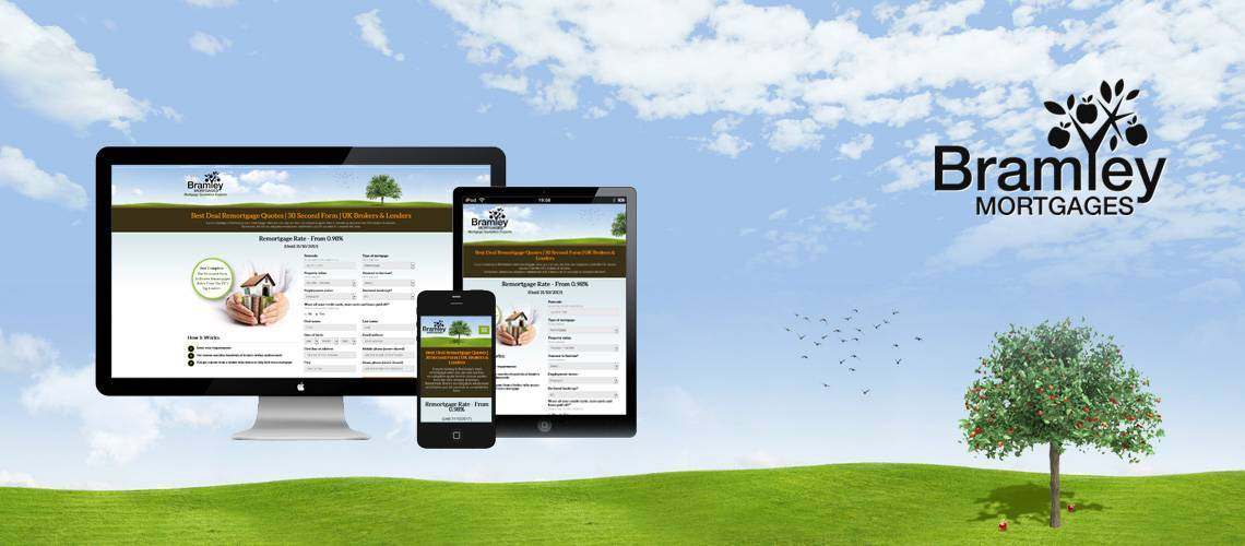 Bramley Mortgages - Responsive Lead Generation Website Design