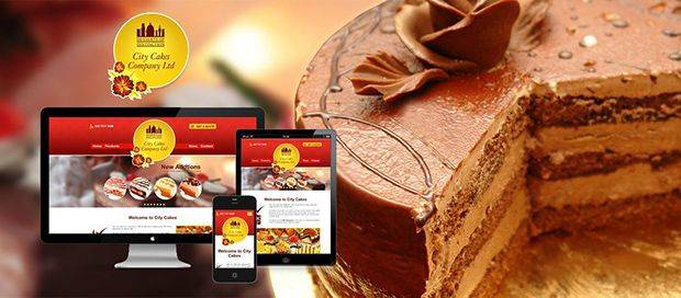 City Cakes - Responsive web Design