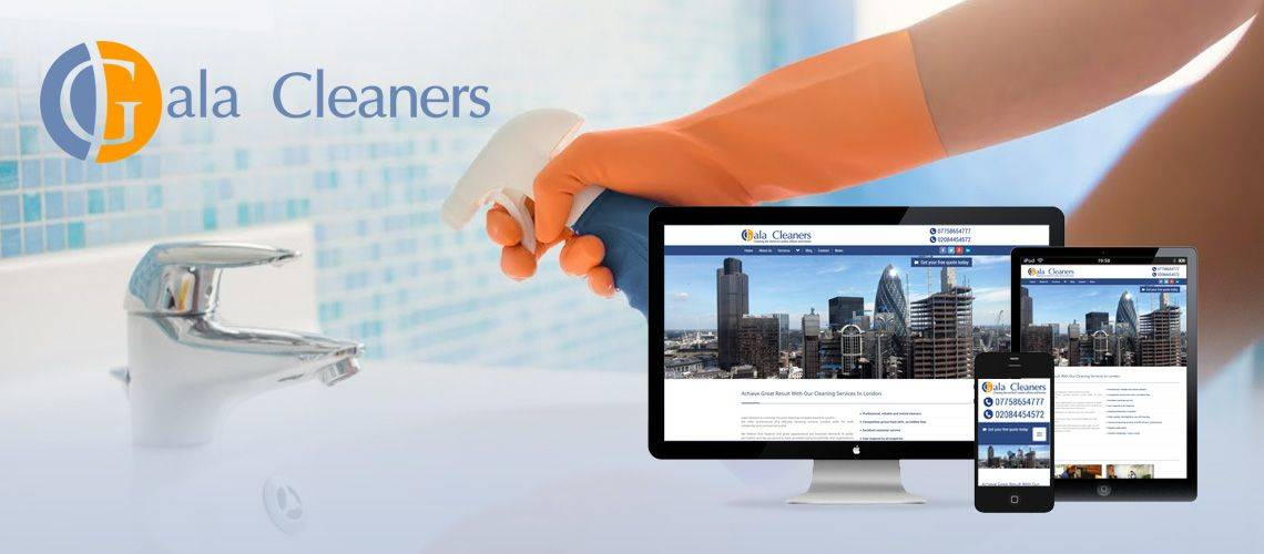 Gala Cleaners - Responsive Web Design