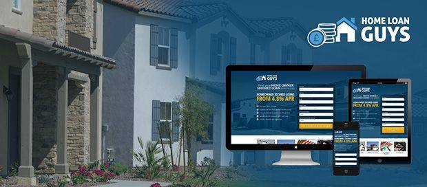 Home Loan Guys - Lead Generation Website Design