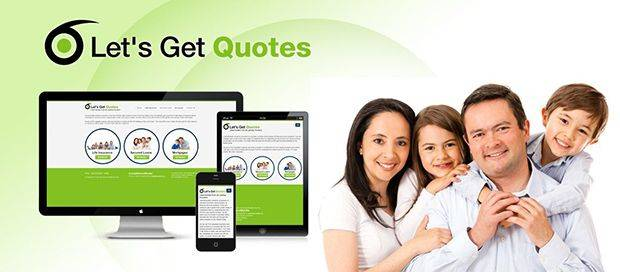 Lets Get Quotes - Responsive Website Design