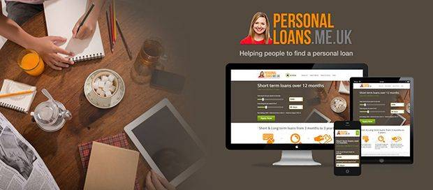 Personal Loans - Responsive Website Design