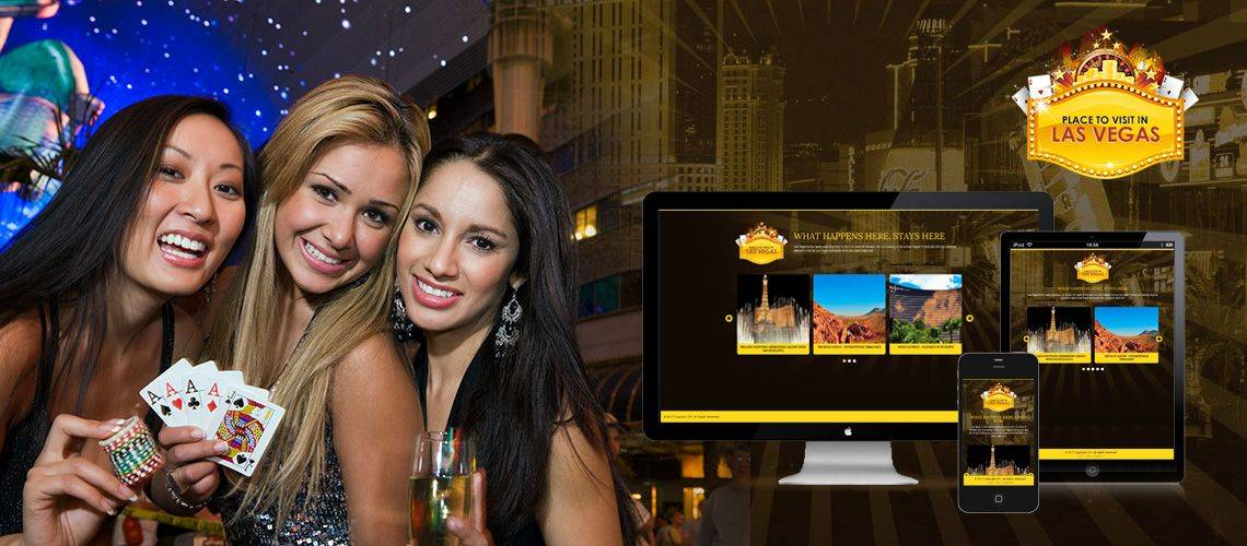 Places To Visit In Las Vegas - Responsive Web Design
