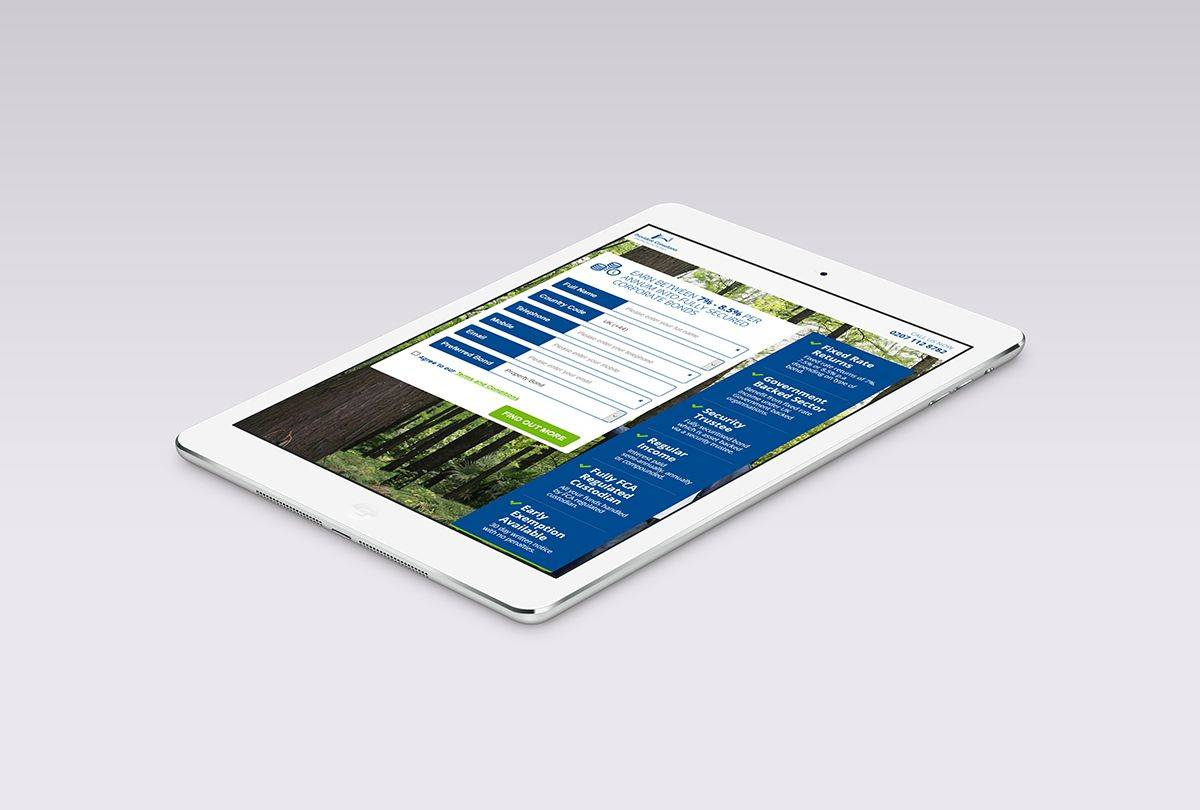 Provident Bond - Responsive Website Design