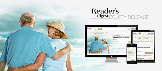 Reader's Digest Equity Release - Responsive Lead Generation Website Design