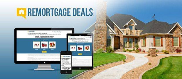 project-Remortgage Deals - Responsive Website Design