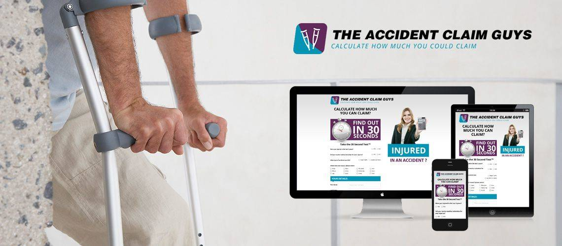 The Accident Claim Guys - Mobile Friendly Website Design