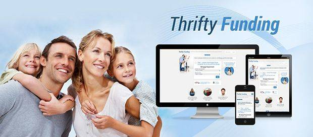 Thrifty Funding - Lead Generation Website Design
