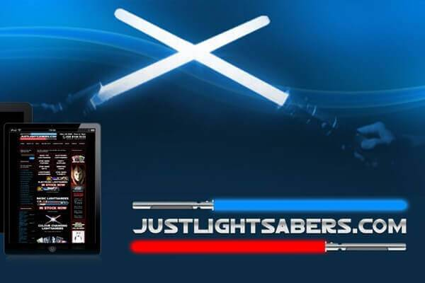 Just Light Sabers - Custom Ecommerce Website Shopping Solution