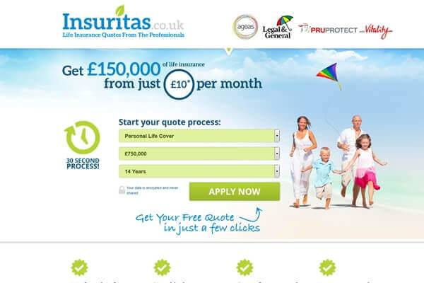 DCP completes new Responsive Lead Generation Website for Insuritas