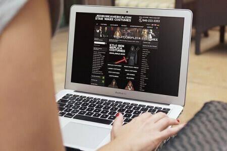 DCP completes Jedi Robe America - Star Wars Shop - Ecommerce Website Design