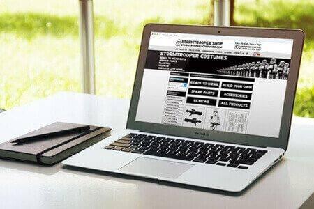 DCP completes Stormtrooper Costumes Ecommerce Website Design