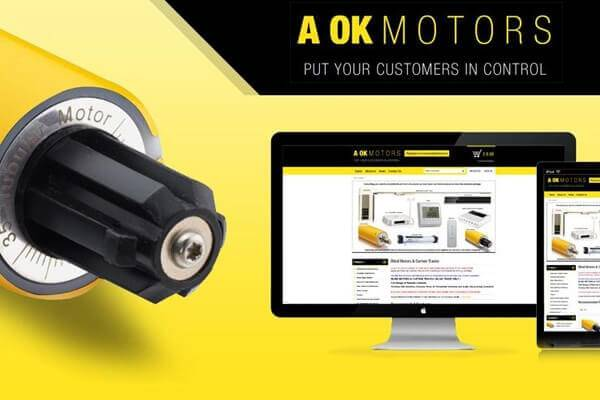 A OK MOTORS - Custom Ecommerce Website Design