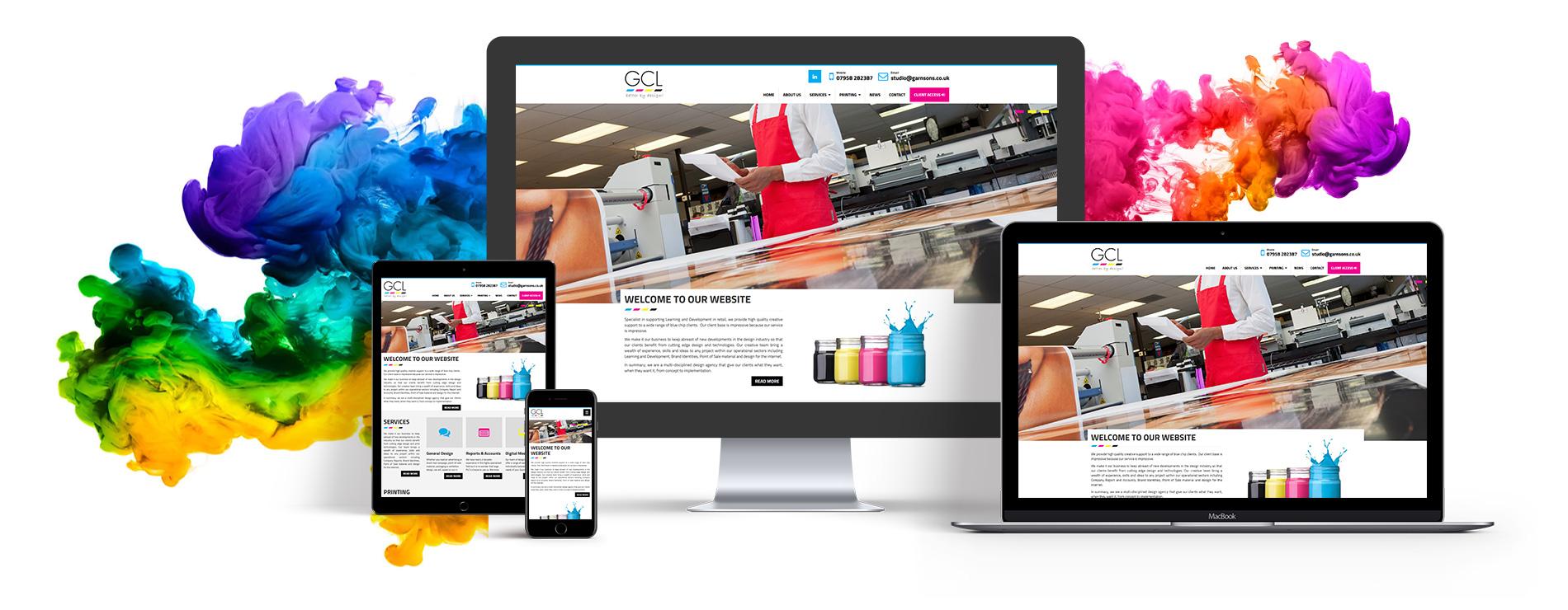 Responsive Website Design Example